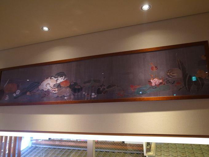 伊藤若冲の絵画を見ながらくつろぐカフェタイム!