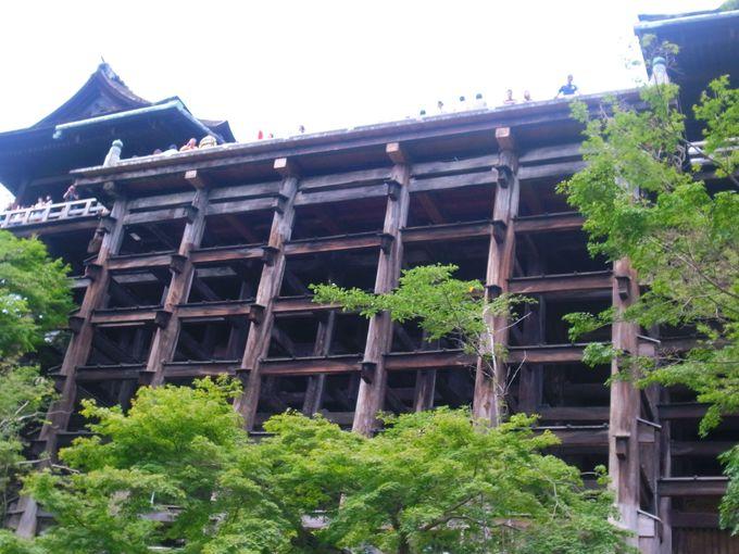 やっぱりこれでしょう!清水寺最大の謎・「清水の舞台」