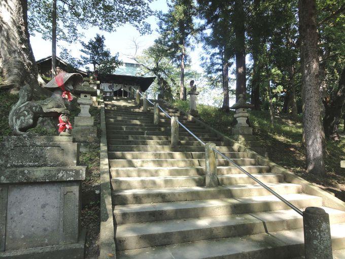 築城の歴史にあり! 「鶴ヶ城稲荷神社」