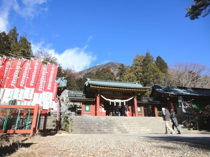 パワースポット「二荒山神社中宮祠」へは徒歩7分で行ける!