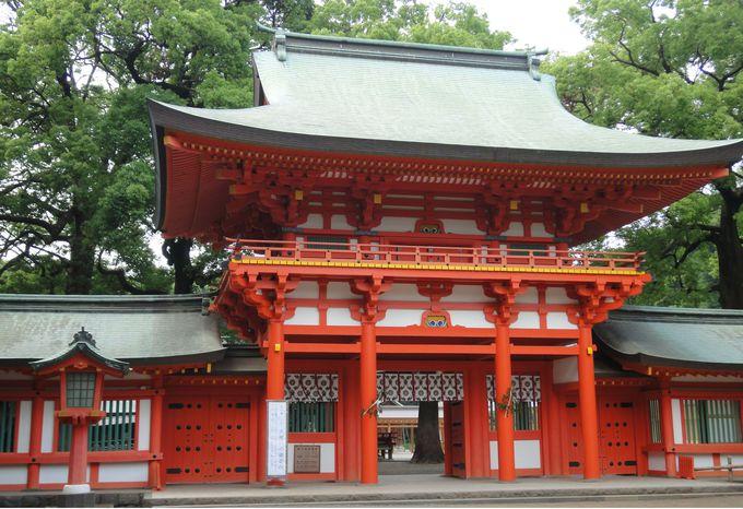 魅力5:武蔵国一之宮・氷川神社が近い!