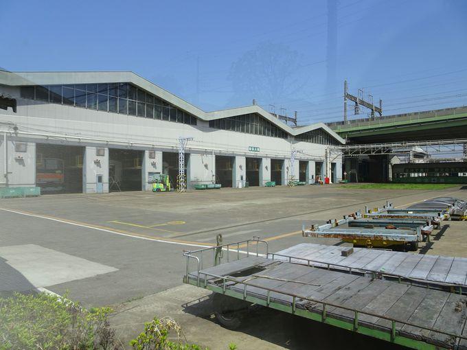 必見スポット3:「JR東日本大宮総合車両センター」がのぞけちゃう!?