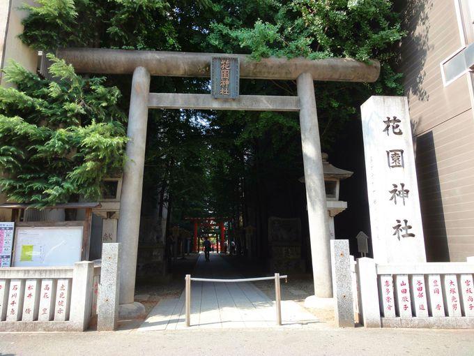 新宿区役所のそば! 古くから新宿の発展を見守ってきた「花園神社」