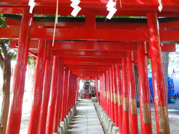 末社「威徳稲荷神社」は夫婦和合・子授け・縁結び