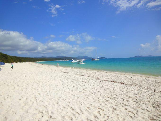 世界で最も美しいと言われている「ホワイトヘブンビーチ」