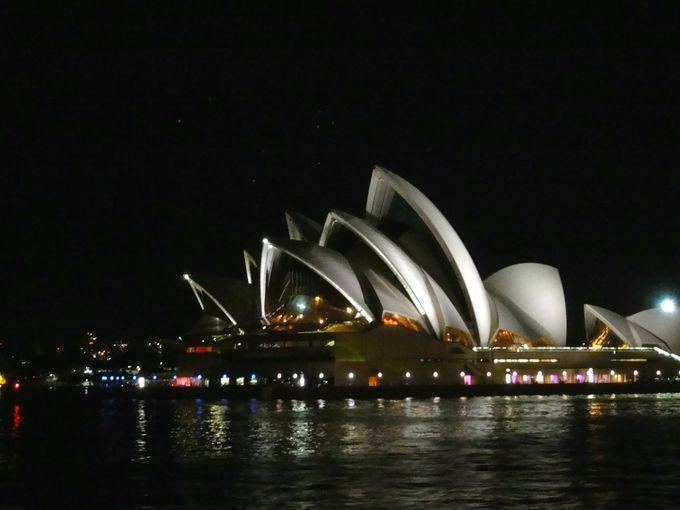 ライトアップ!世界遺産「オペラハウス」