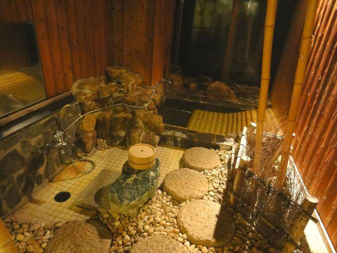 露天風呂、大展望風呂、家族風呂の3つがある!