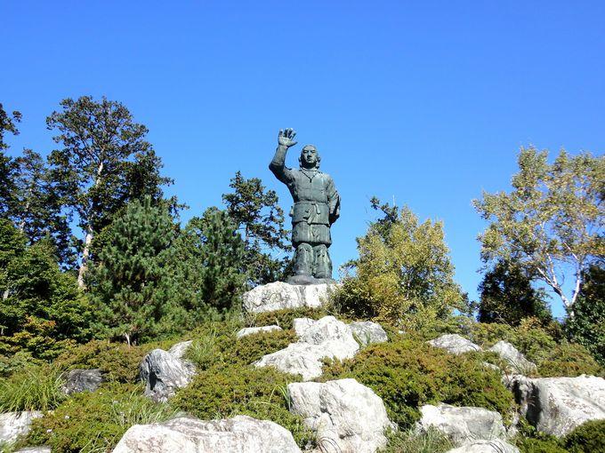 「日本武尊銅像」周辺もパワースポット!