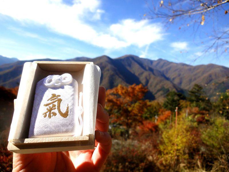 毎月1日限定!浅田真央選手も持つ 秩父三峯神社「白い氣守り」