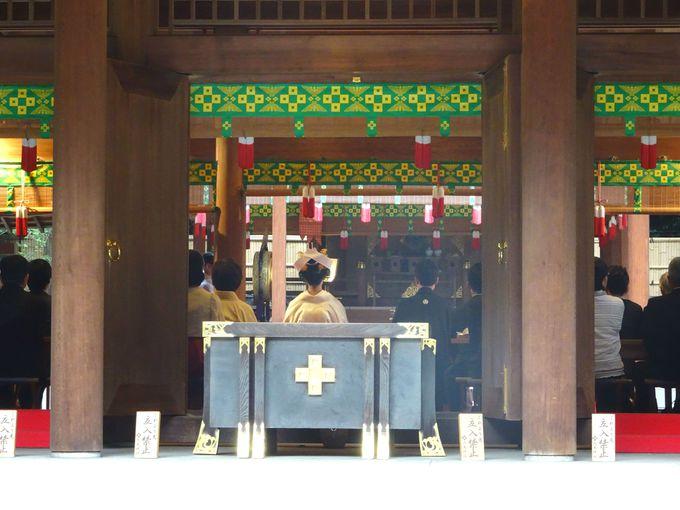 結婚式場としても人気のある「乃木神社」