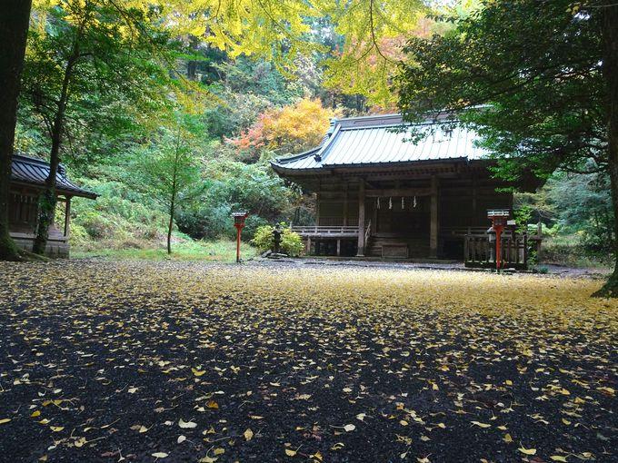 ロケ地としてよく使われる御殿場「二岡神社」
