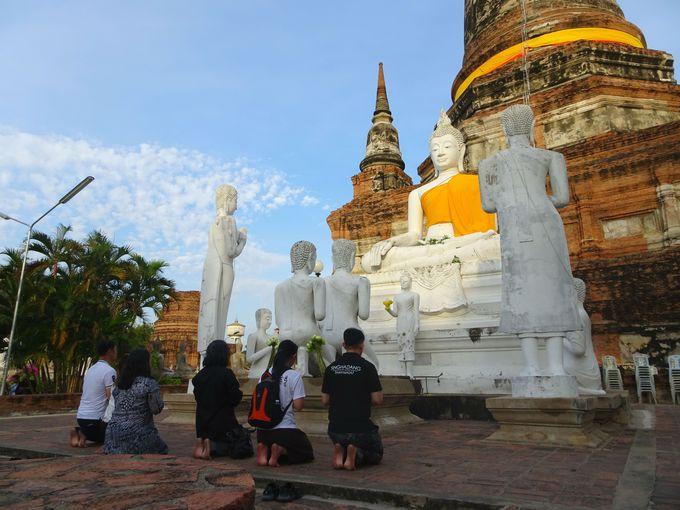 アユタヤを象徴する仏教寺院の遺跡! 「ワット・ヤイ・チャイ・モンコン」