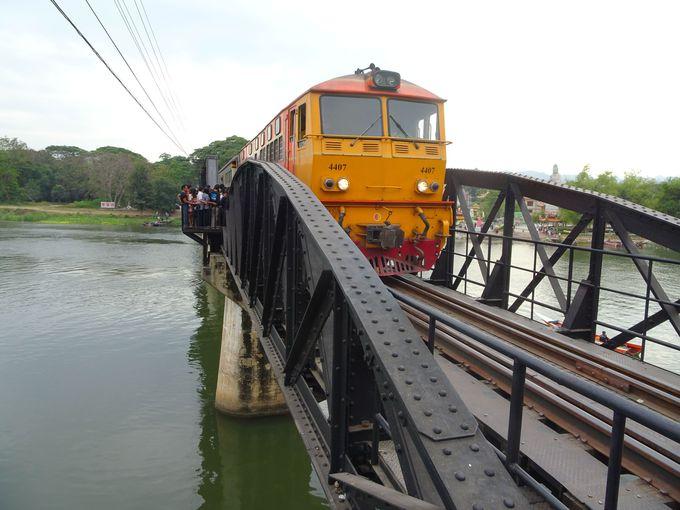 ポイント5:『戦場にかける橋』のモデルとなった「クウェー川鉄橋」