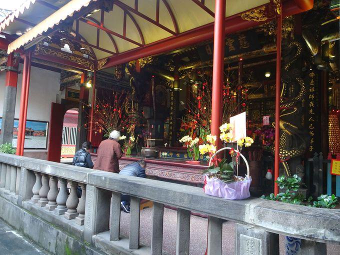 2.台北の三大廟門の一つ!「清水巌祖師廟」