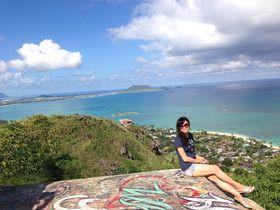 感動!オアフ島「ラニカイピルボックス」で絶景ハイキング