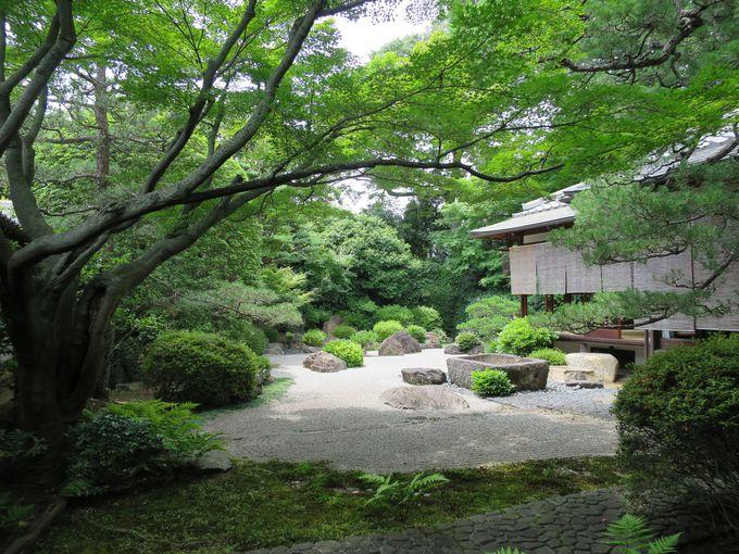 小堀遠州ゆかりの石庭