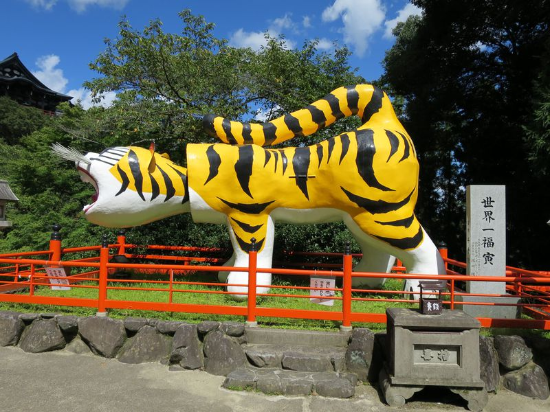 阪神タイガースも祈願!張子の寅が有名な信貴山・朝護孫子寺