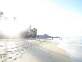全米ベストビーチ1位!ワイキキ『デューク・カハナモクビーチ』は早朝が最高!