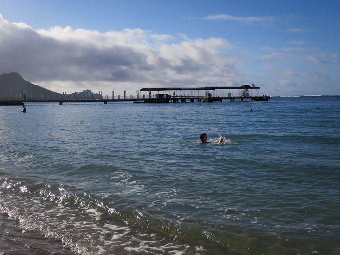 早朝が最高!朝日を浴びて海を一人占め!