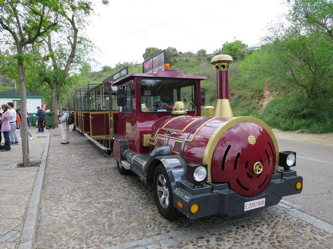 列車型の可愛いミニバス「ソコトレン」