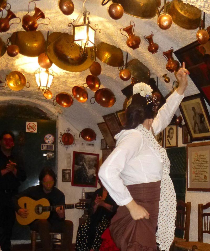 臨場感満点!胸打たれるスペイン・グラナダ情熱の洞窟フラメンコ