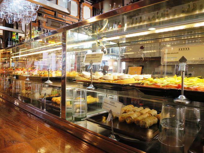 タパスはじめスペインの美食が揃うサン・ミゲル市場