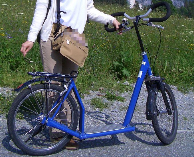 ボルト駅でトロッティバイクをレンタルしよう