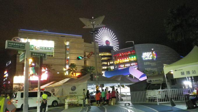 台湾最大級!のショッピングセンター