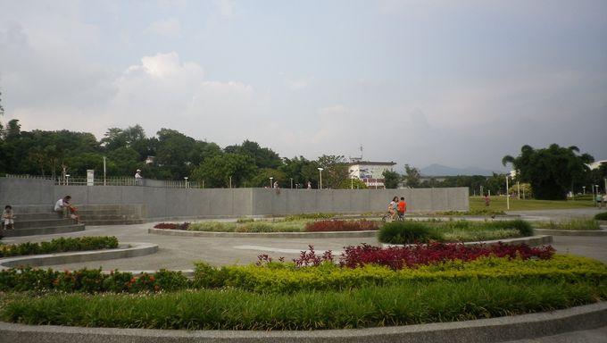 お花と緑あふれる台北のオアシス