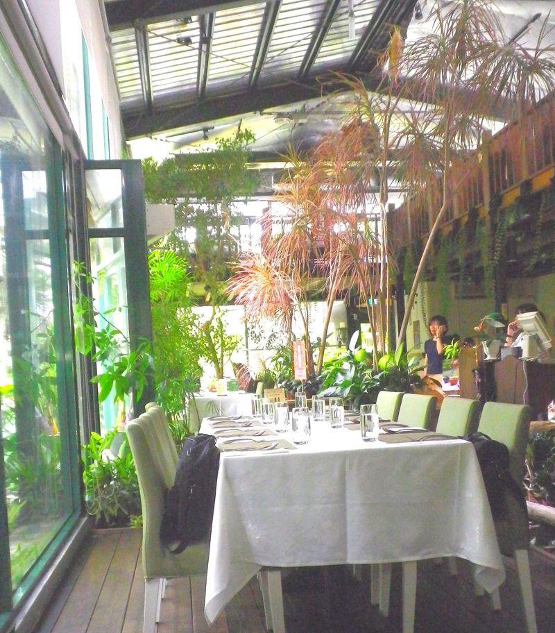森林の中で味わう美しい野菜たち「千樺花園」台湾・台中