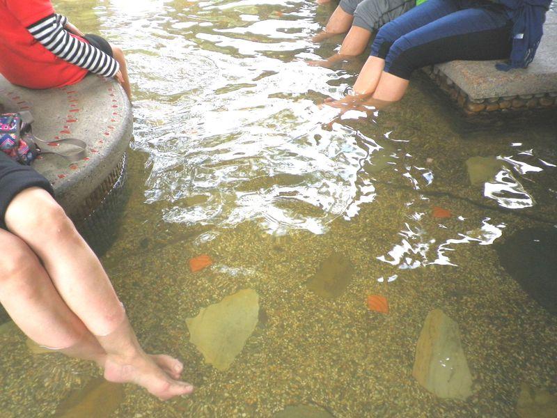 台北から僅か1時間!日帰り&無料で楽しめる「礁渓温泉公園」