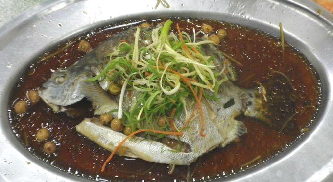 おすすめは魚の「清蒸」