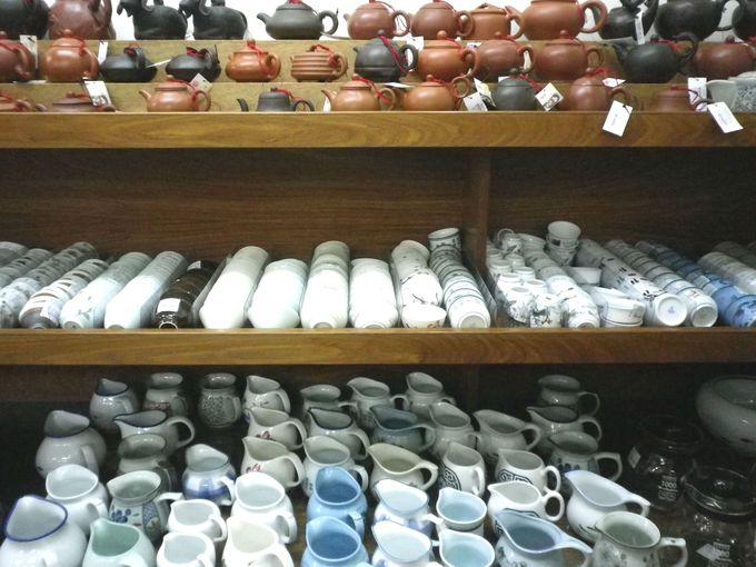 お手頃茶器も購入できます!