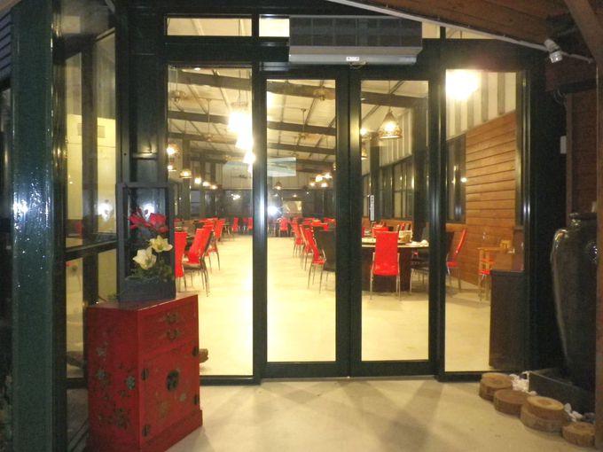 新たにレストランがオープン!