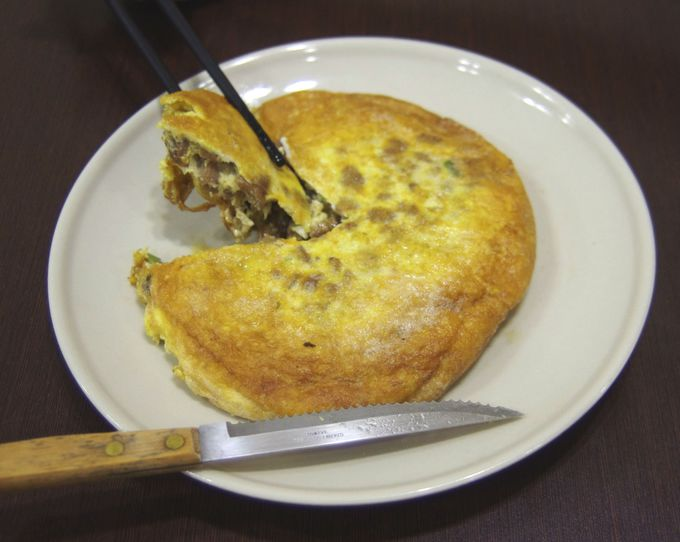 台湾料理の定番「菜脯蛋」はまるでケーキ!