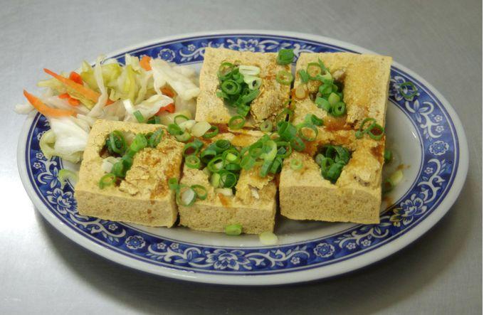 食べやすい臭豆腐