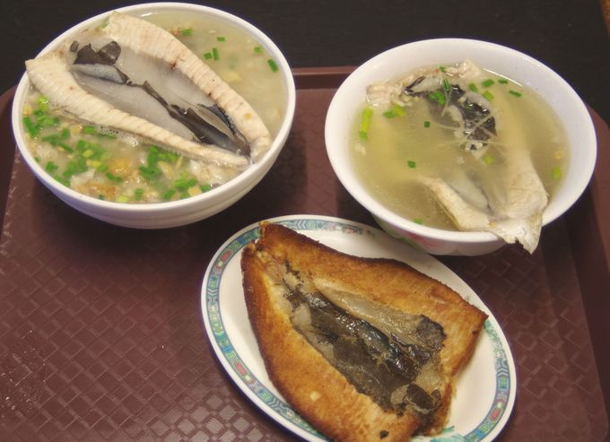 「煎魚肚(焼きはらみ)」&「湯(スープ)」