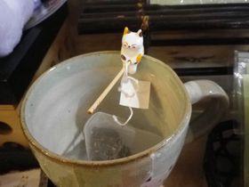 癒しキャラ「みたらしちゃん」も!静岡茶なら「幸寿庵」で!