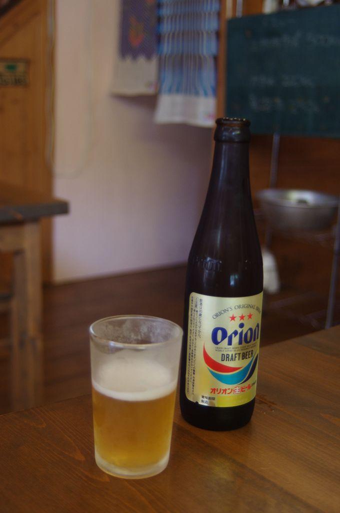 オリオンビールも一緒にどうぞ〜