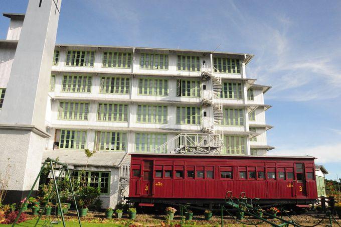 紅茶工場の廃墟を改装して1996年ホテルとしてリニューアルオープン!