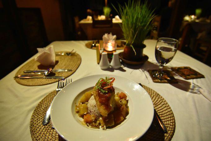 味良し、価格良しのレストランで優雅なディナー。