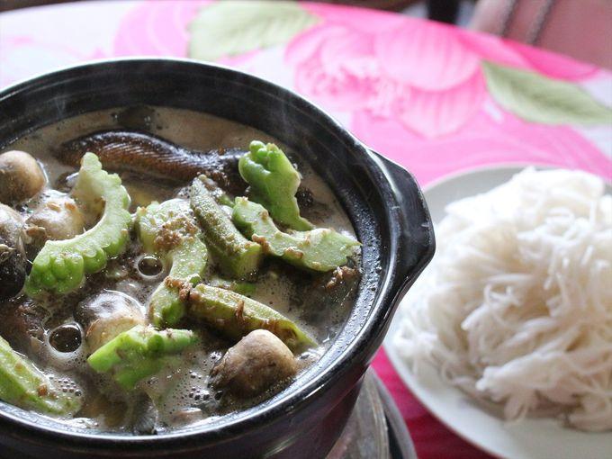 カントーの名物「ラウ・マム(Lau Mam)」を食べる