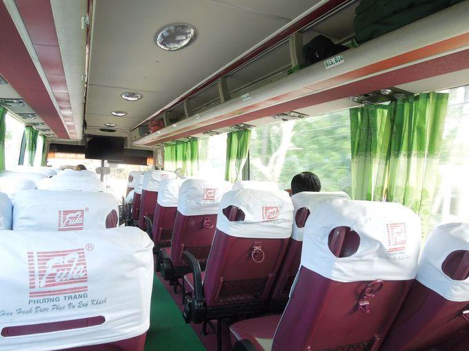 ホーチミンからムイネーまではバスの車窓を楽しむ