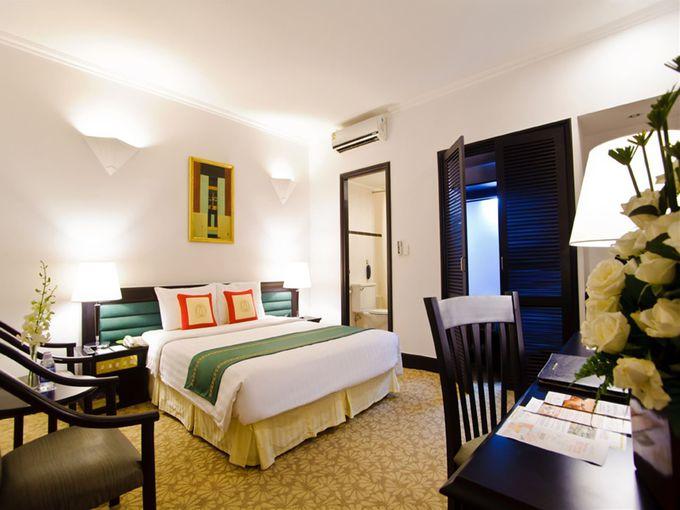 5種類の清潔なベッドルームはどれを選んでも満足!