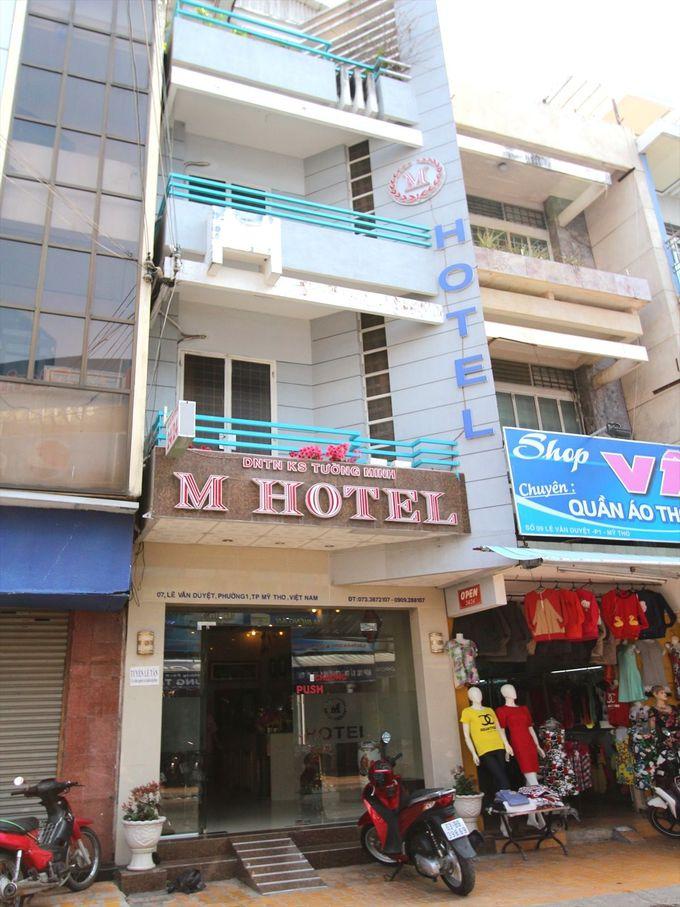 「Mホテル」は各種アクセスも良好。ツアー参加もここで