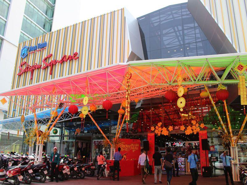 市場の雰囲気で買い物♪ホーチミンの「サイゴンスクエア3」