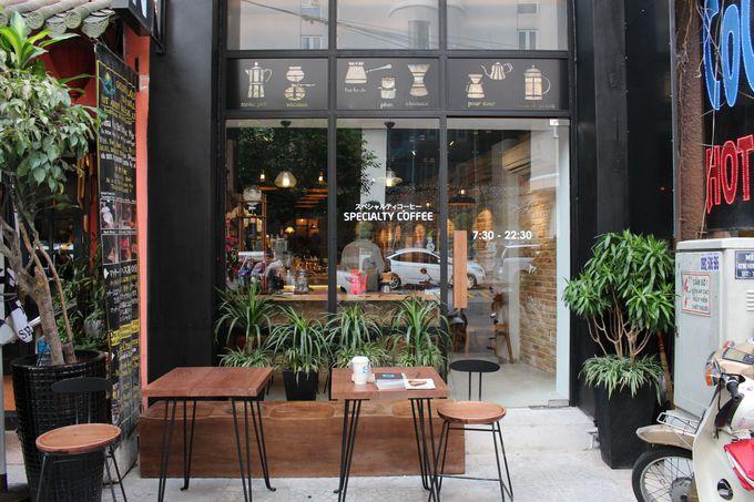 ホーチミン市内に2店舗構える自家焙煎珈琲店