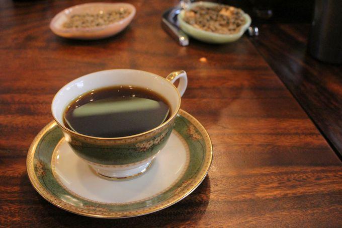 世界10か国以上から輸入しているコーヒー豆