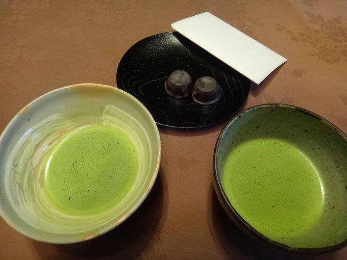 京都の街中で唯一!茶の湯の宿で飲むお茶