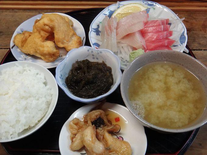 『鮮魚のふくむら』で新鮮さしみ定食!